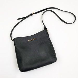 MICHAEL KORS Classic Black Leather Crossbody Bag